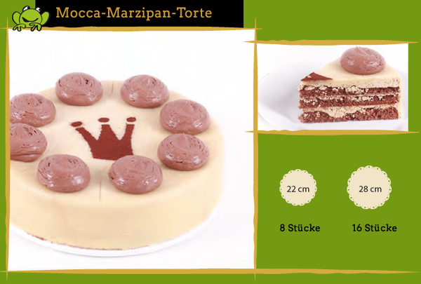 Mocca-Marzipan Torte